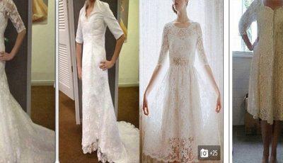 Ferește-te de rochiile de mireasă comandate on-line. Miresele povestesc prin ce coșmar au trecut! Poze
