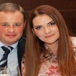 Foto: Eduard Mușuc și soția au împlinit 20 de ani de căsnicie!
