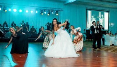 Poze noi de la nunta Cristinei Croitoru!
