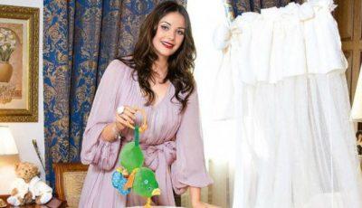 Cea mai frumoasă femeie din Rusia nu poate slăbi după naștere!