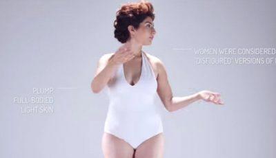 Cum arăta femeia ideală în urmă cu sute de ani? Filmulețul cu 8 milioane de vizualizări în 5 zile!