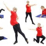 Foto: Exerciții pentru fese și sâni fermi în timpul sarcinii!