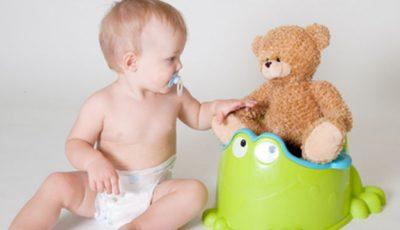 Când este momentul potrivit pentru a obişnui copilul cu oliţa?