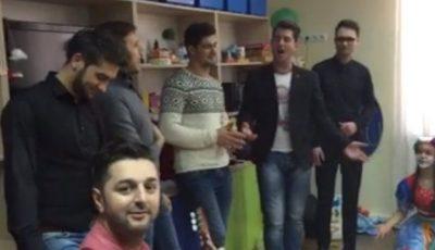 Brio Sonores, Tania Cergă și Adrian Ursu au cântat pentru copiii bolnavi de cancer!