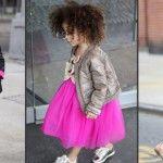 Foto: Are doar 3 ani și este cea mai stilată fetiță din lume!