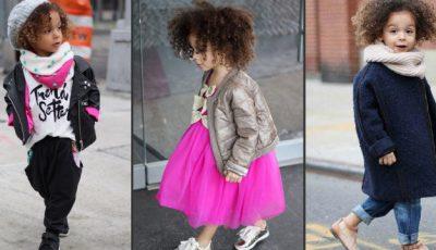 Are doar 3 ani și este cea mai stilată fetiță din lume!