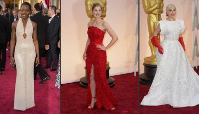 Rochie din 6.000 de perle la Premiile Oscar!