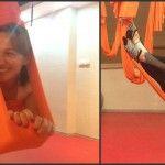 Foto: Sanda Filat își întreține condiția fizică ca și Nona Marian