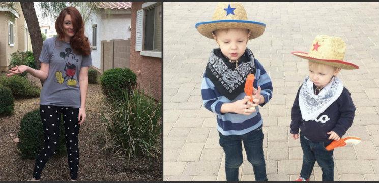 Foto: O mamă și-a lăsat copilul să-i aleagă hainele. Iată ce a ieșit!