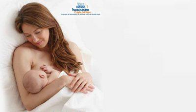 Ce conţinelaptele matern şi cum contribuie acesta la dezvoltarea sănătoasă a bebeluşului