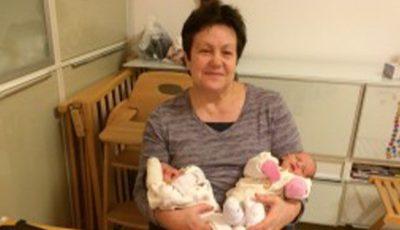 Vitalia Pavlicenco a devenit bunică de gemeni