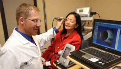 O metodă nouă de diagnosticare a afecţiunilor ochiului