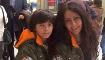 Mihaela Rădulescu este atentă la alimentaţia fiului ei. Ce nu lipseşte din meniu