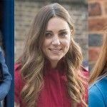 Foto: Kate Middleton nu şi-a colorat părul de când este însărcinată, chiar dacă i se văd firele cărunte