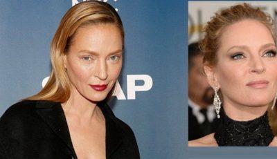 Ochii lui Uma Thurman au altă formă. Ce și-a făcut actrița?