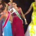 Foto: Bătaie la Miss Amazon 2015. O participantă a smuls coroana de pe capul învingătoarei!