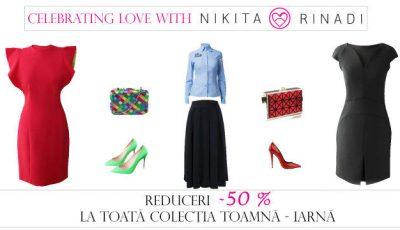 De Valentine's Day, poți cumpăra ținute de la Nikita Rinadi cu 50% reducere!