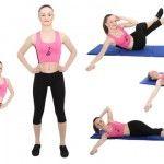 Foto: 5 exerciții pentru o talie sculptată!