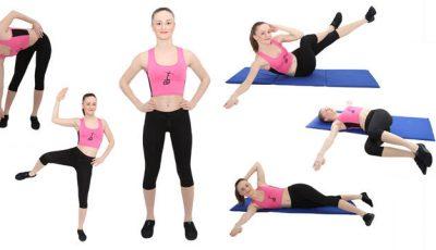 5 exerciții pentru o talie sculptată!