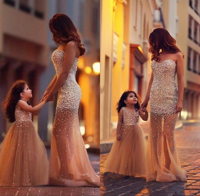 Mame și Fiice îmbrăcate La Fel