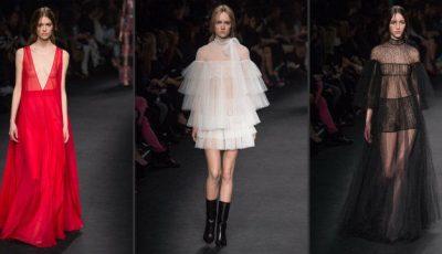Solzi de sirenă și mii de mărgele pe rochiile Valentino!