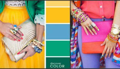 15 combinații de culori perfecte în materie de haine!