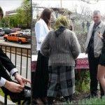 Foto: Dorin Chirtoacă le învață pe femei cum să se îmbrace la cimitir!
