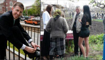 Dorin Chirtoacă le învață pe femei cum să se îmbrace la cimitir!