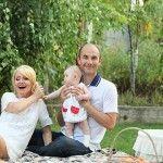 Foto: Fiica Lorenei Bogza împlineşte un anişor!