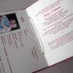Invitație de nuntă pașaport 3