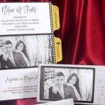 Invitatie de nunta pe un film de aparat foto 2