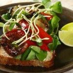 Foto: Sandwichuri cu legume la grătar
