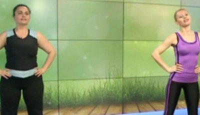 Antrenează-ți picioarele cu instructorul Aliona Trifan!