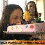 Foto: Ana Barduc, provocare la primul chef cu mese întinse!