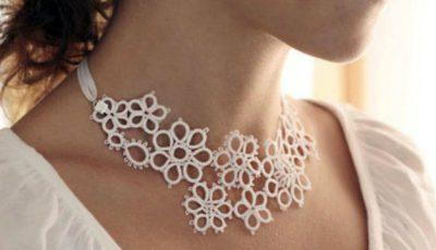 Bijuterii pentru mireasă făcute handmade
