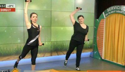 Exerciții la domiciliu pentru brațe ferme!