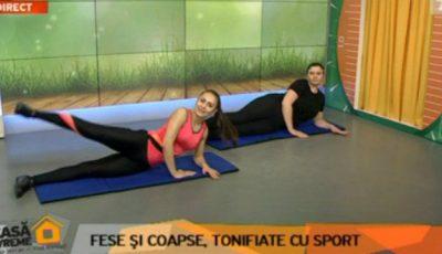 Cele mai bune exerciții pentru fese şi coapse