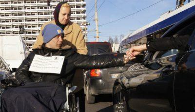 Cât câștigă pe zi un cerșetor în Moldova