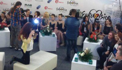 Participanţii au boicotat after-show-ul Eurovision.