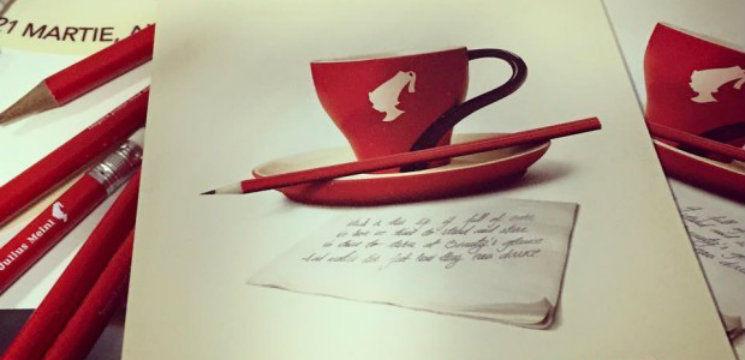 Foto: Sâmbătă,  cafeaua va costa o…poezie. Vezi în ce localuri