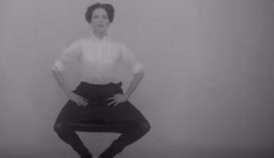 Video! Cum făceau femeile sport cu 100 de ani în urmă