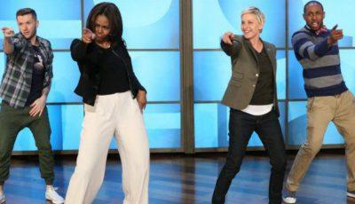Michelle Obama dansează pentru sănătatea americanilor