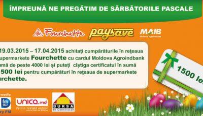Ne pregătim de Paşte împreună cu Fourchette şi Pay&Save!