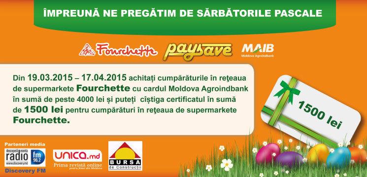 Foto: Ne pregătim de Paşte împreună cu Fourchette şi Pay&Save!