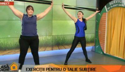 Iată ce exerciții poți face pentru a slăbi la talie!