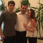 Foto: Prima poză cu fiica Angelei Gonța și a lui Vlad Filat!