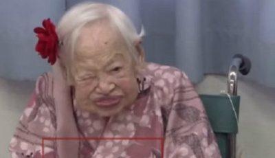 A murit cea mai bătrână femeie din lume!