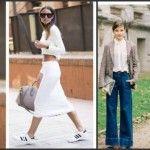 Foto: Ținute all white și pantaloni evazați – tendințele sezonului cald!