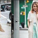 Foto: Cum să porți o rochie cu nasturi!
