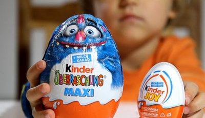 Ouăle Kinder sunt interzise în SUA, aşa cum sunt şi substanţele narcotice